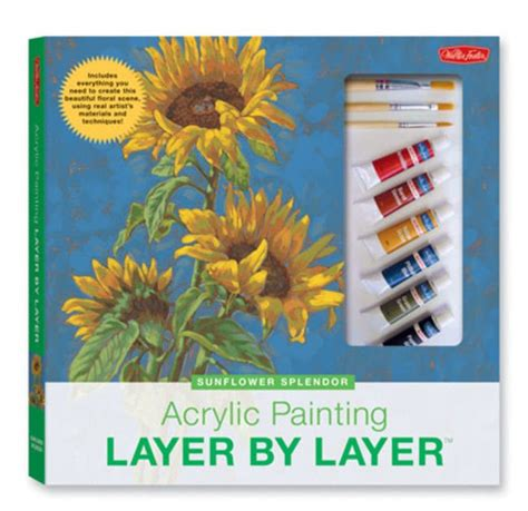 acrylic painting kit layer by layer weekend kits beginner painting kits learn to