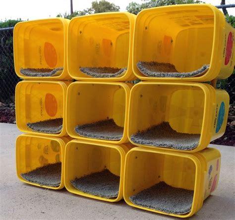 Cat Acrylic Waterproof plastic bin cat condo petdiys