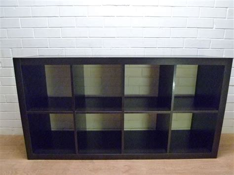 mod ikea expedit cube bookcase display shelf cabinet