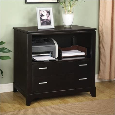 printer cabinet wynwood palisade printer filing cabinet in dark sable