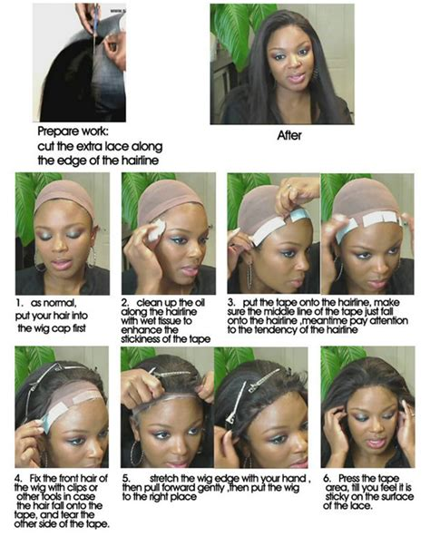beyonce lace front wigs how to apply lace wig de novo hair how to put on a wig and make it look natural unice
