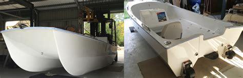 single engine catamaran for sale boat designs and kits spirited news