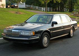 how to learn about cars 1989 lincoln continental mark vii regenerative braking lincoln continental wikip 233 dia