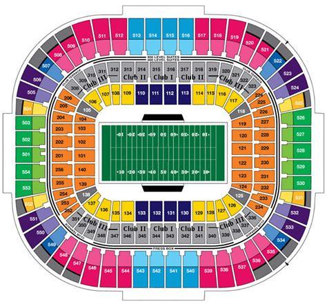 panthers club seats carolina panthers bank of america stadium seating chart