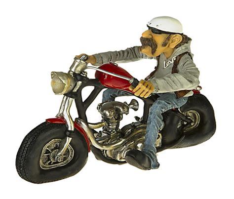 Harley Davidson Motorrad Figur by Bikers Deko Figur Easy Rider Witziger Biker