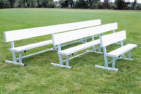 team benches all aluminum team benches beacon athletics store
