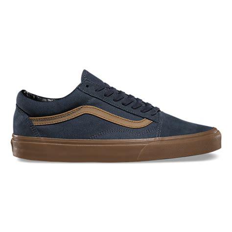 Vans Skool Maroon Sol Gum gum sidestripe skool shop shoes at vans