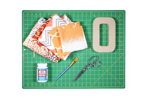 materials needed for decoupage how to decoupage with fabric ofs maker s mill