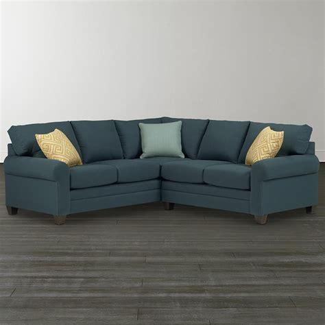 2 L Shaped Sectional by Bassett 3851 Lsect Cu 2 L Shaped Sectional Discount
