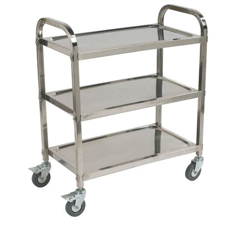 sandusky 3 5 cu ft 22 in w folding utility cart fcw3622