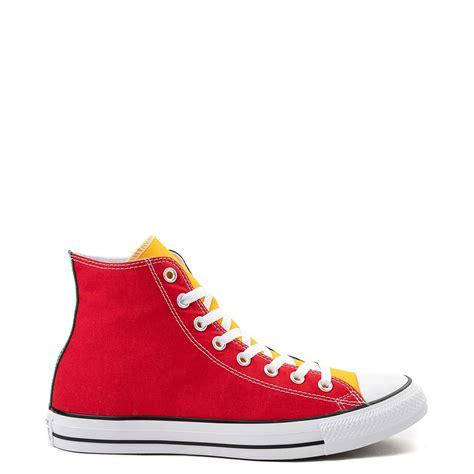 color converse converse chuck all hi color block sneaker