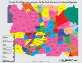 zip code map houston area language exchange in houston