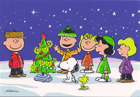 charlie brown snoopy gang merry christmas mailbox happiness angee  postcrossing flickr
