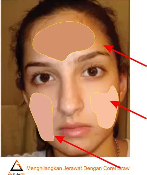 tutorial gambar wajah dengan corel draw cara menghilangkan jerawat wajah dengan coreldraw x7