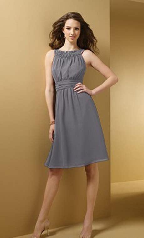 Grey Bridesmaid Dress by Chiffon Dresses Bridesmaid Dresses Charcoal Grey