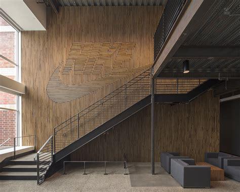 design solutions journal of the architectural woodwork institute nike brand walls architect magazine fieldwork design