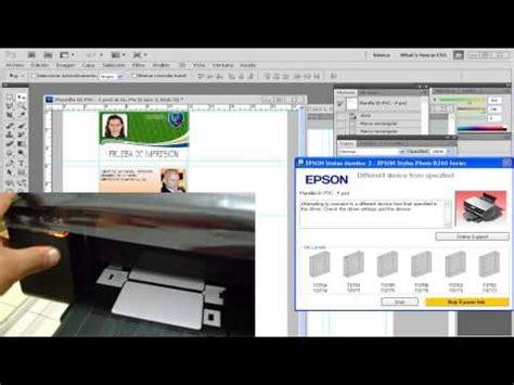 epson l805 id card tray template epson l800 blank inkjet pvc id card doovi