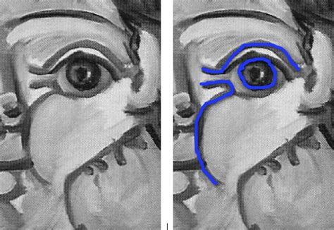 picasso paintings eye epph picasso s claude writing 1951
