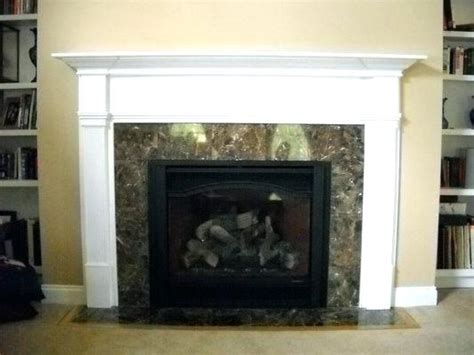 gas fireplace frame gas fireplace mantels home depot