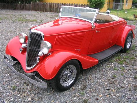 Modern Home Interior by 1934 Ford Roadster For Sale