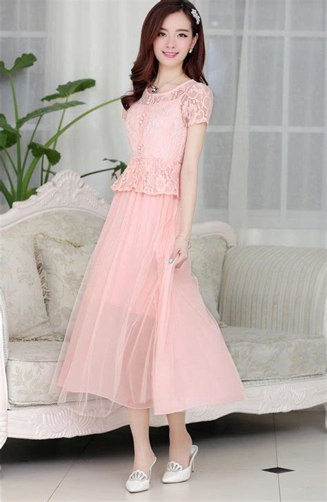 dress pesta brokat cantik model terbaru jual