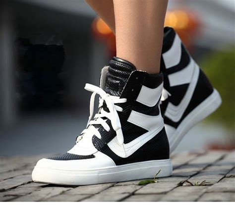 korean shoes for details about black s sport fashion high shoes top