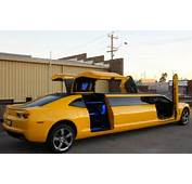 Bumblebee Camaro Limousine By Showtime Limos – SWIFTLIFEZ