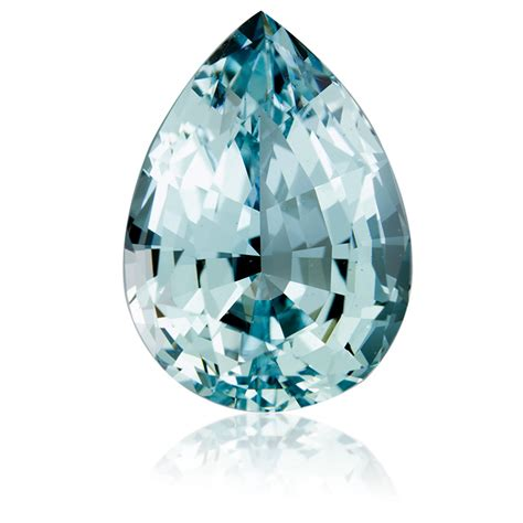 nigeria aquamarine pear 13 49ct king gems