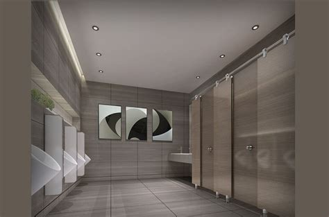 restroom design and this 3d design of public restroom c b hygiene architecture
