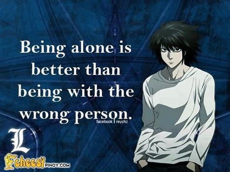 L Quotes by Anime L Note Quote So True Note