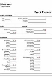 Microsoft planners events event planners templates planner template