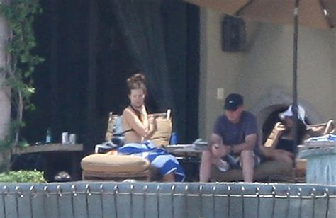 Kate Beckinsale Goes Back To The Pool by Sheen Photos Photos Kate Beckinsale Relaxing Pool