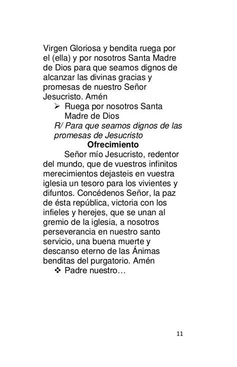 Rosario de difuntos librillo word