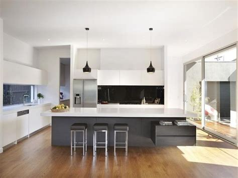 modern island kitchen designs 25 best ideas about island bench on pinterest