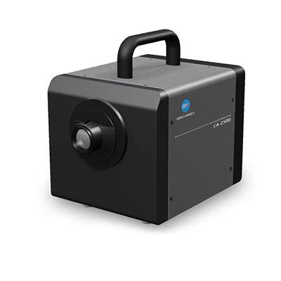 color analyzer 2d color analyzer ca 2500 konica minolta color light