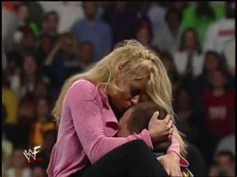 trish stratus height trish stratus escaped from being driven through a table