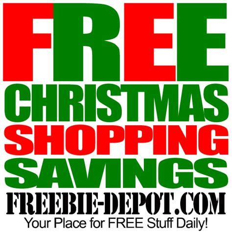 free christmas shopping savings free christmas promo