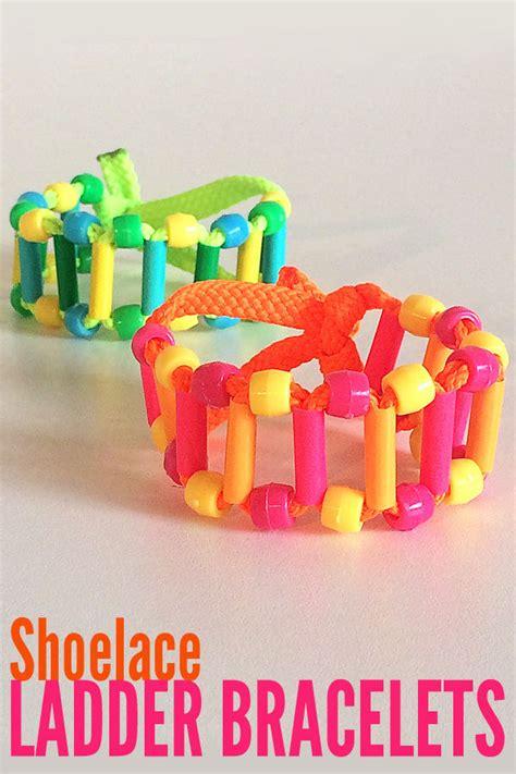 tween crafts tween craft shoelace ladder bracelet pictures photos and