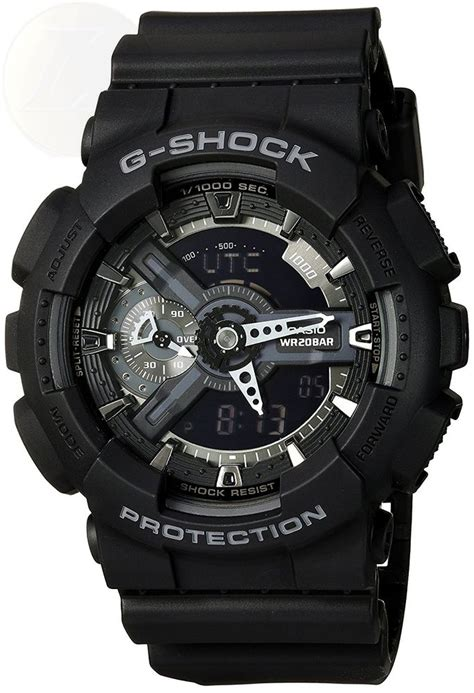 Baby G Ga 110 Black casio g shock x large display stealth black ga110 1b