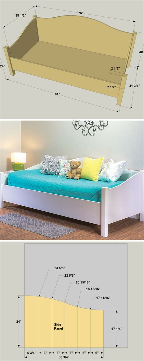 daybed plans 140 best images about make day bed on pinterest diy