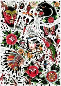 Traditional tattoo flash kysa ink design tattoo tattoo ideas