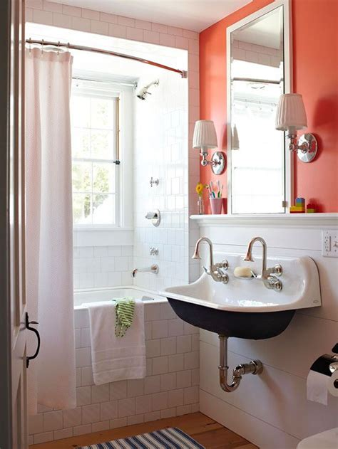 trough sinks colored powder coating  inspired room