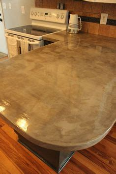 concrete countertops made simple step by step 1000 ideas about concrete kitchen countertops on