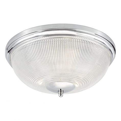 Medium Bathroom Flush Mount Light Ceiling Fitting by Dar Lighting Arbor 3 Light Flush Bathroom Ceiling Fitting In Polished Chrome Finish With Glass