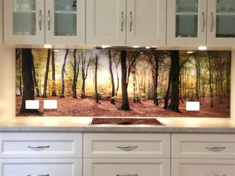 kitchen glass backsplash with digital printing made of kitchen on pinterest grey kitchens high gloss kitchen