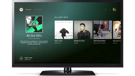 spotify android spotify is now available on android tv the verge