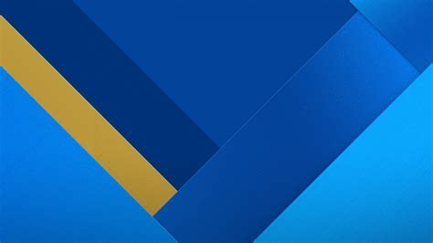 Wallpaper Geometric, Material design, Stock, Blue, HD