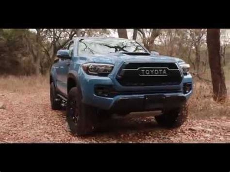 2018 toyota tacoma trd pro in pro calvary blue (off road