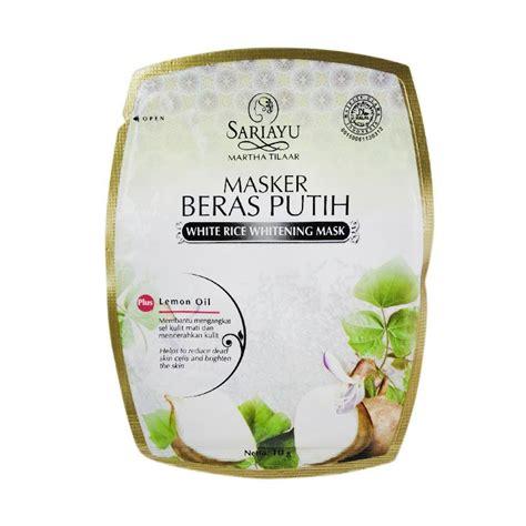 Harga Sariayu Masker jual sariayu masker beras putih harga kualitas