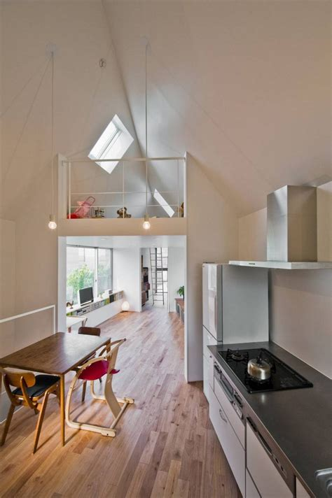 reka bentuk rumah kecil  tingkat  nampak sempit